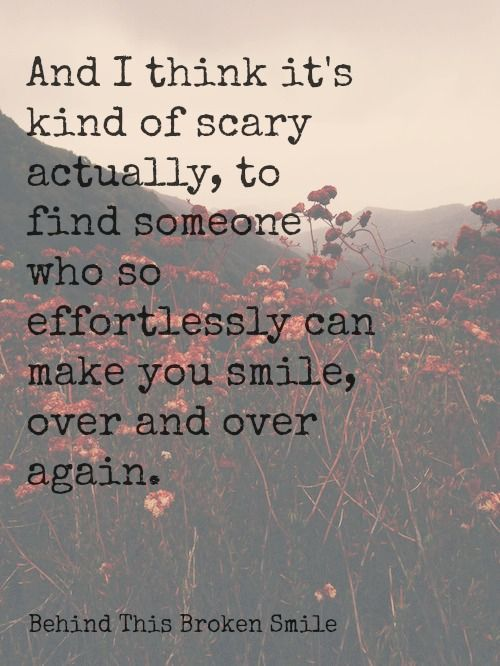 i think it s kind of scary but so very nice love quotes