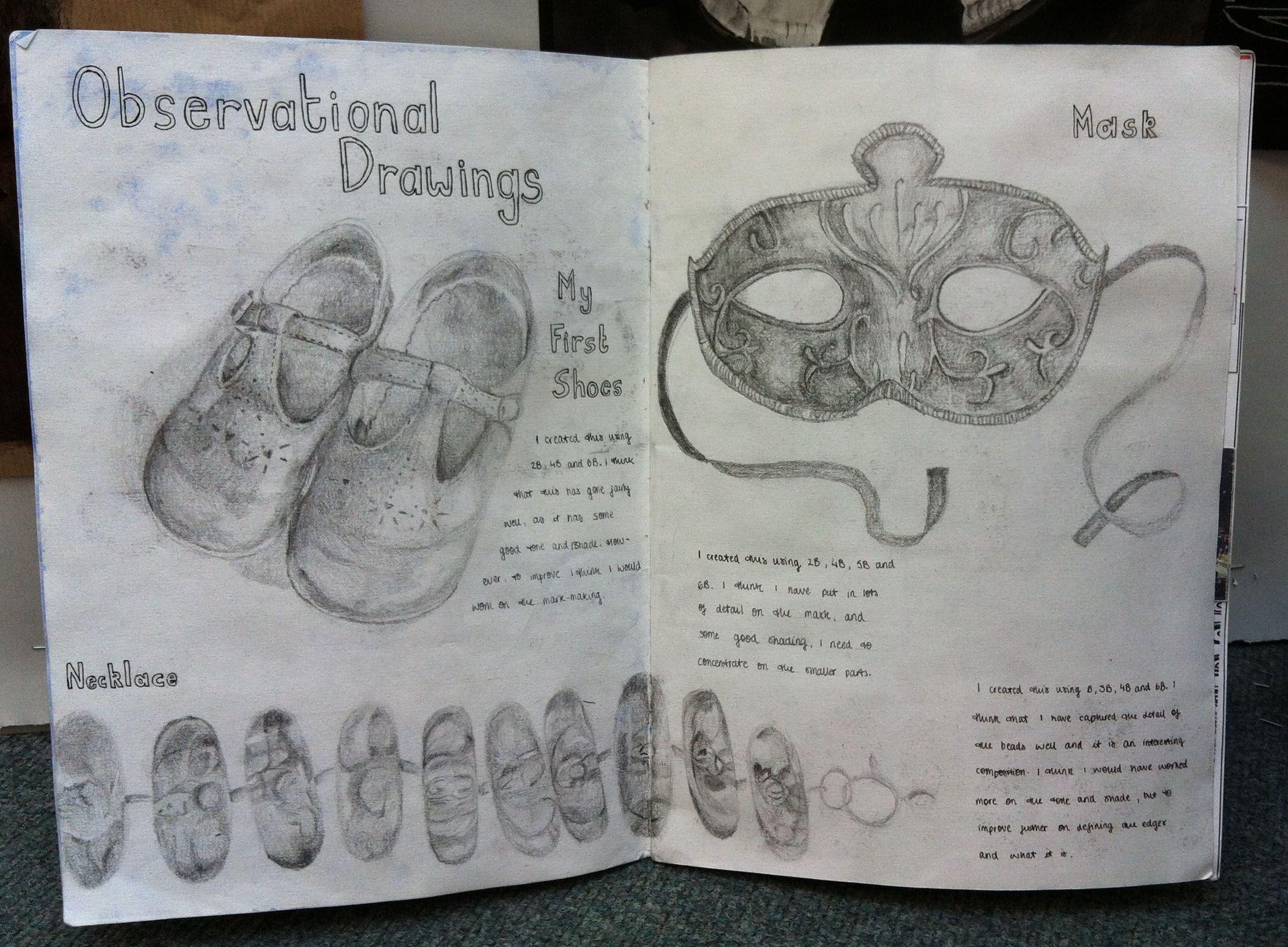 N5 Portfolio 2nd Sheet A2 Buckhaven Hs Rosto T Art