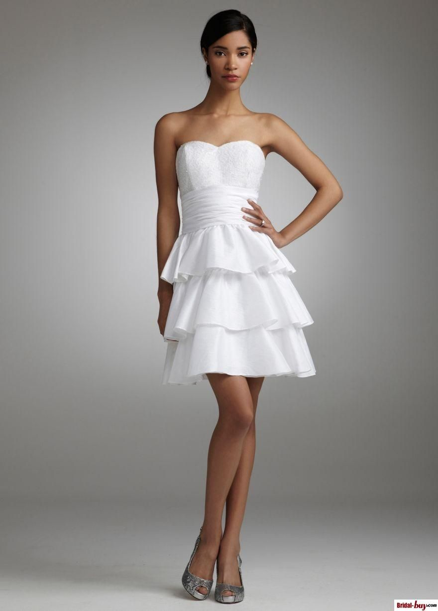Stunning sweetheart aline tiered sequined short pleated taffeta