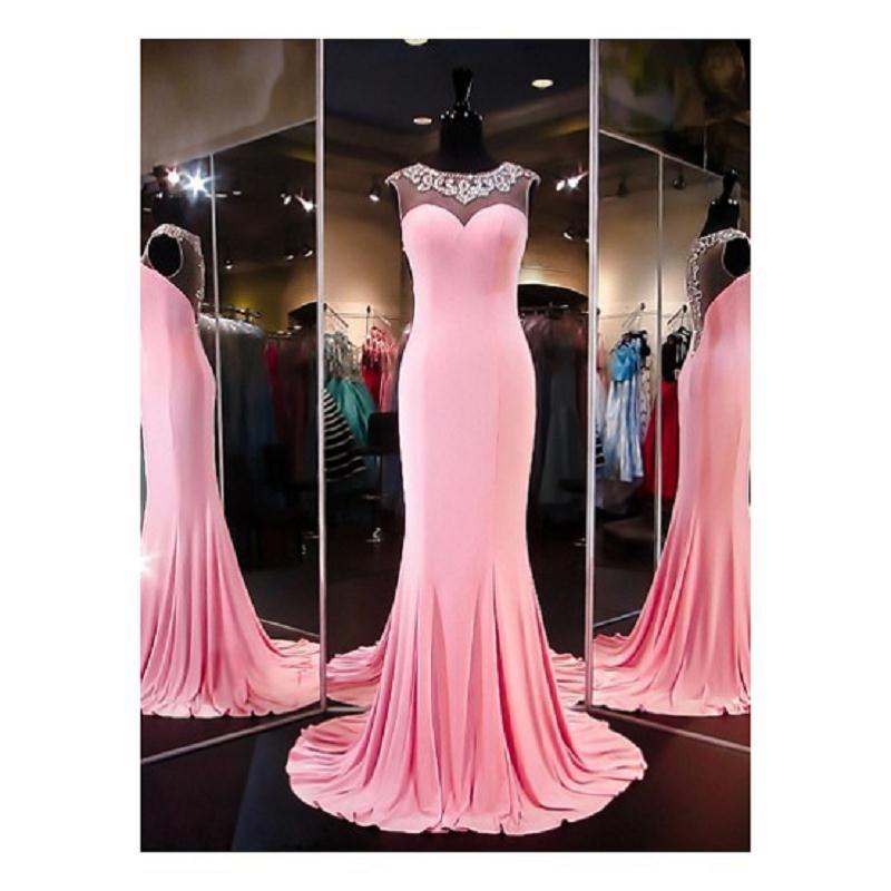 Beading Mermaid Long Prom Dresses 2017 Vintage Satin | The Pic we ...