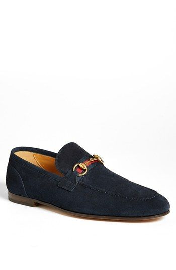 958c4e8a4d0 A brushed bit and webbing strap top off a sharp loafer shaped from soft