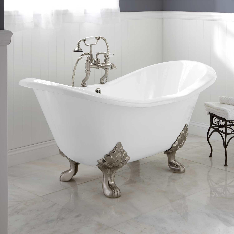 Celine Cast Iron Clawfoot Tub | Clawfoot tub bathroom, Tubs and Iron