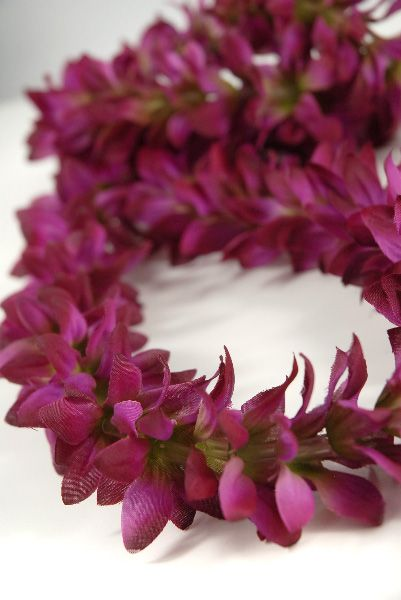 Silk flower leis purple violet orchid 599 each 6 for 529 each silk flower leis purple violet orchid 599 each 6 for 529 each mightylinksfo Image collections