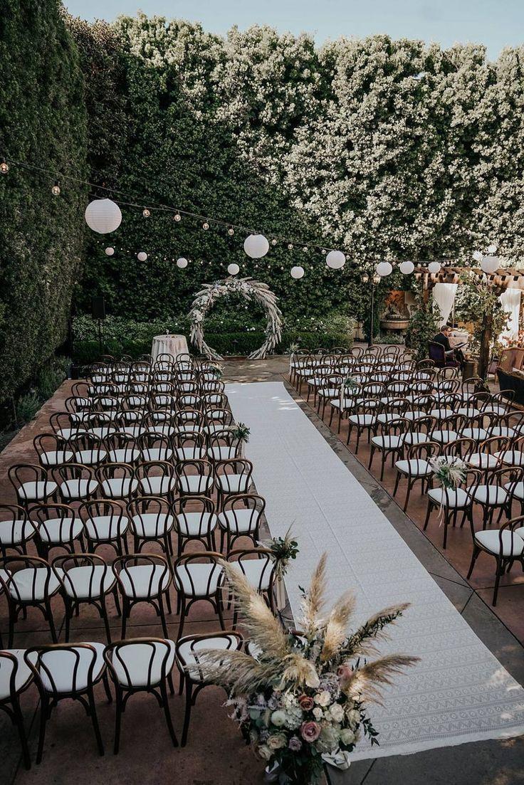 Ethereal Whimsical Boho Garden Wedding in California | Festival Brides