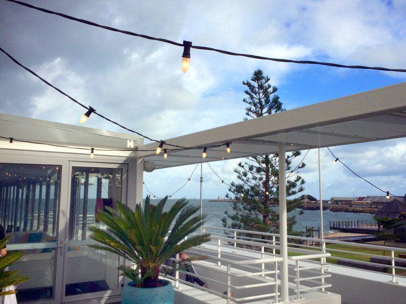Festoon Lighting Hire at Bathers Beach Fremantle. Hired ...