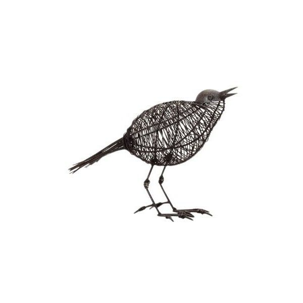 Torre Tagus Magpie Wire Bird Head Up Sculpture 23 Liked On