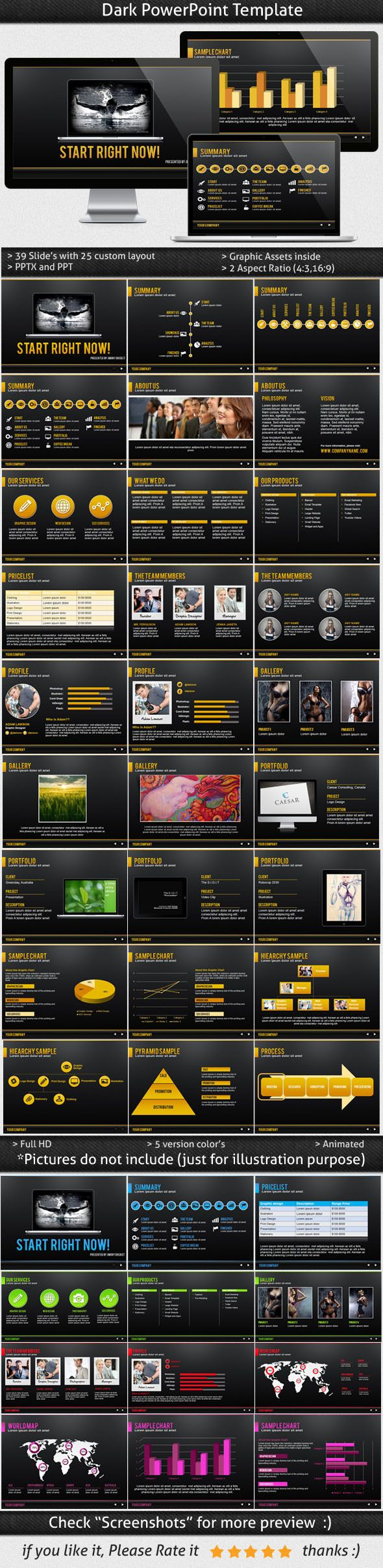 a good powerpoint template for presentation business needs or