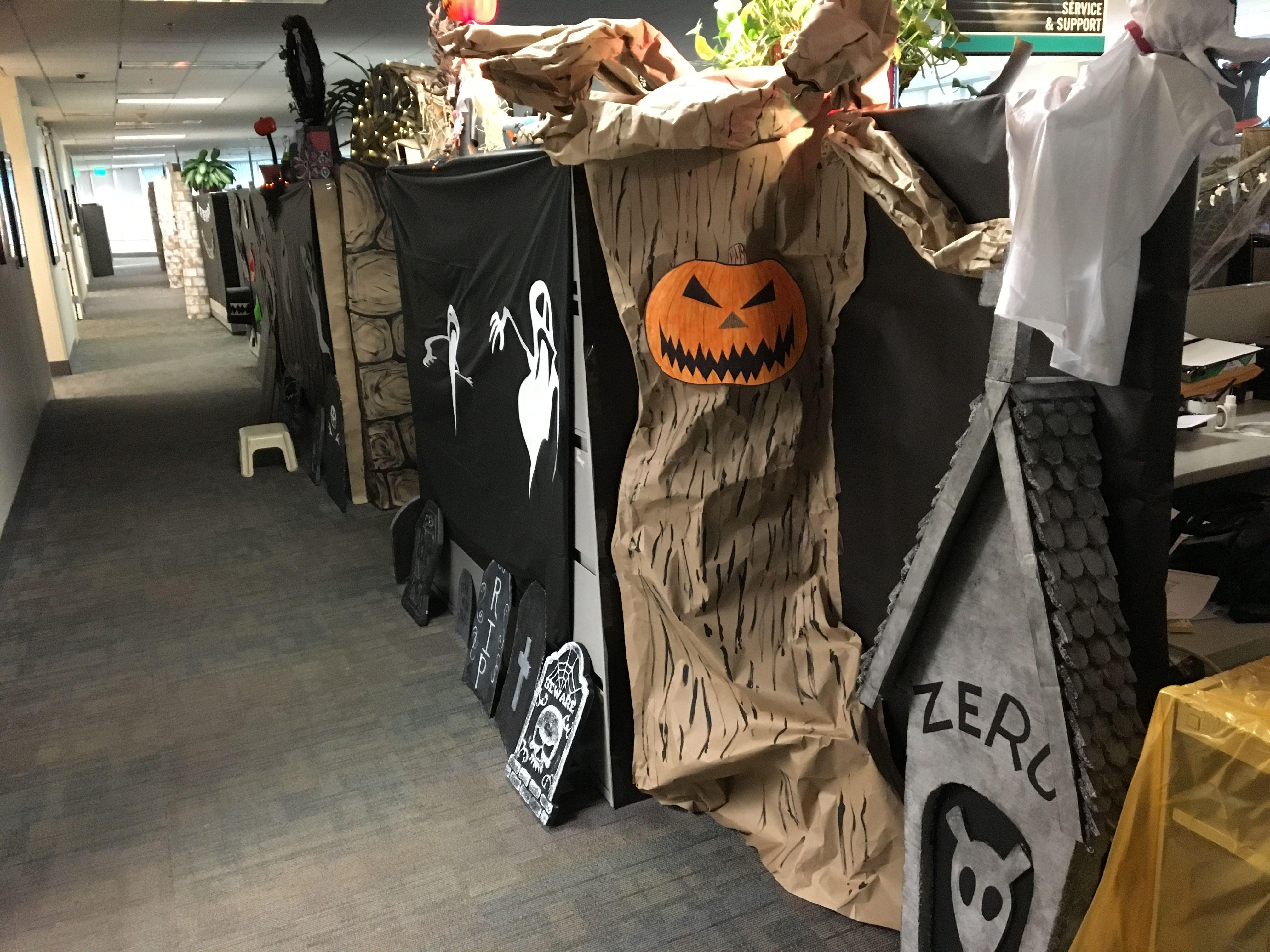 Nightmare Before Tree Office Halloween Decorations Nightmare