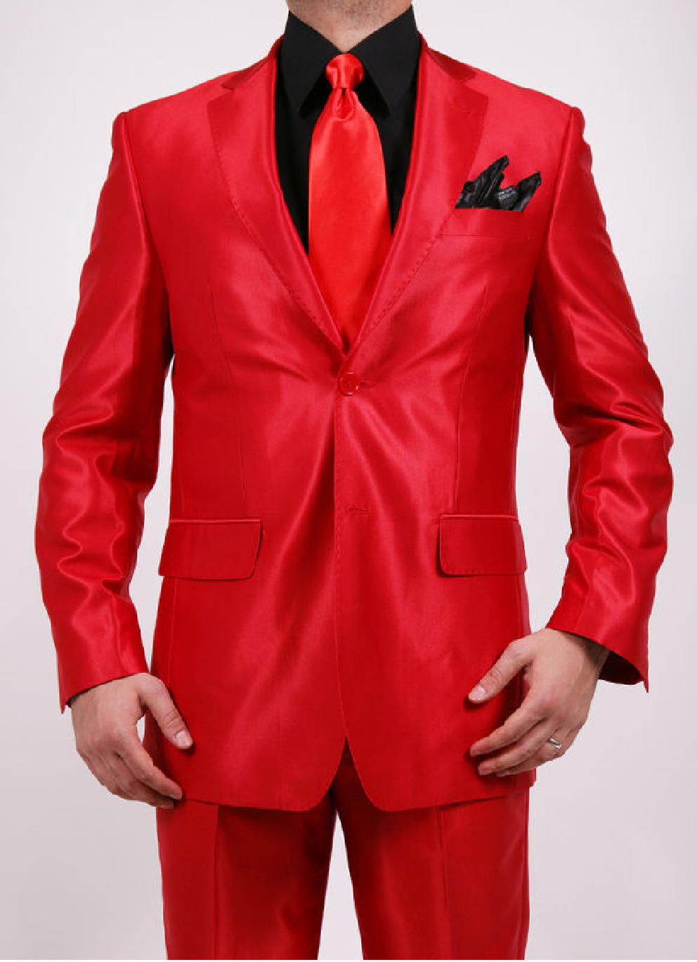 Red Suits For Men | Red-is-Vibrant | Pinterest | Vests, Red ties ...