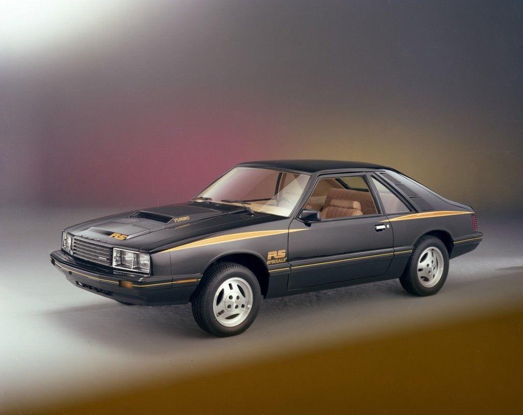 1979 mercury capri rs turbo
