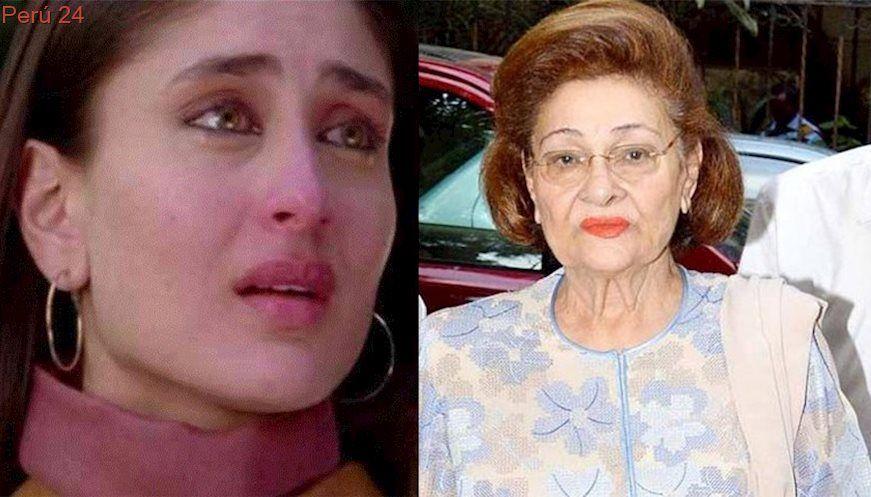 Kareena Kapoor Khan S Grandmother Krishna Raj Kapoor Passes Away Filmibeat Kareena Kapoor Khan Kareena Kapoor Passed Away