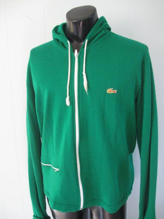 5b2a32a9136740 Vintage Alligator Hoodie Super Soft Green Hooded Sweatshirt like ...