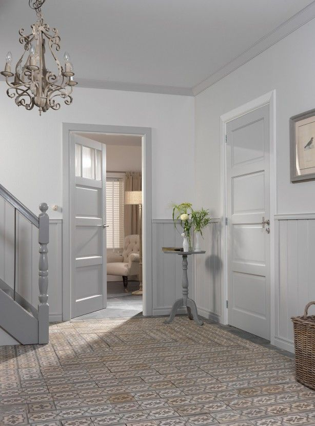 Skantrae prestige binnendeuren binnendeur sks 234 binnendeur met glas sks 233 glas canal - Deco lange idee gang ...