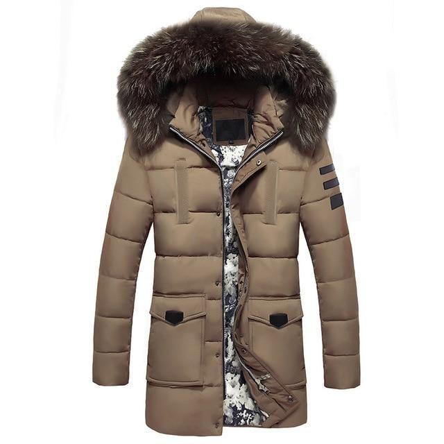 MSA Signature Winter Jackets Men Fur Collar | Products