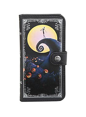 <p>Keep your phone under wraps and looking cool with this <i>The Nightmare Before Christmas</i> case. It features a snap button closure, a camera hole and one interior pocket. </p>  <ul> 	<li>iPhone 6/6s compatible</li> 	<li>Imported</li> </ul>