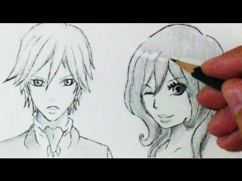 Comment dessiner des cheveux manga 3 diff rents mod les - Dessiner un manga facilement ...