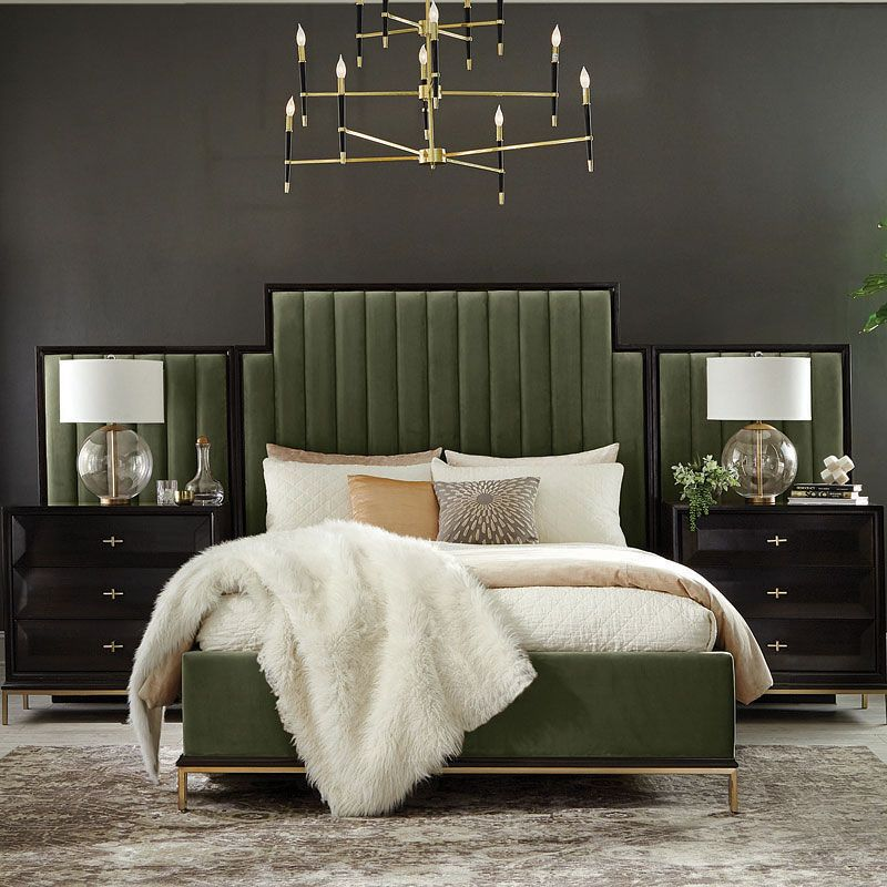 Formosa Upholstered Wall Bed (Dark Moss) In 2020
