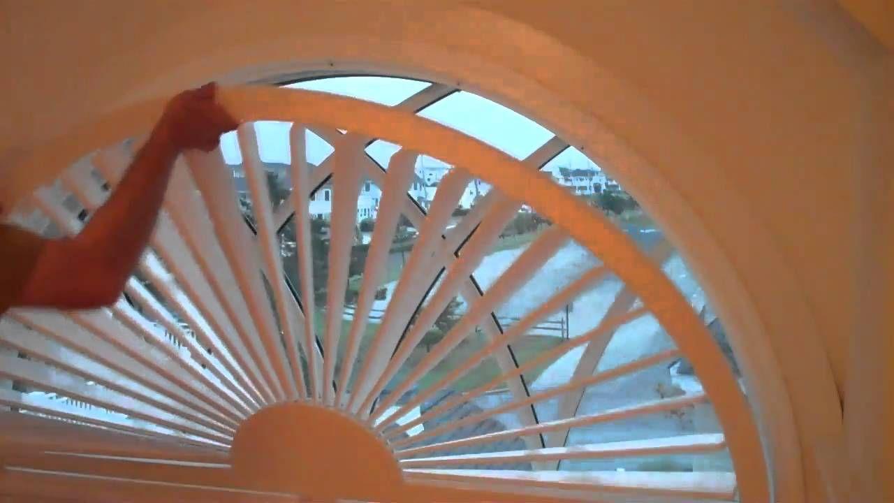 Arch window shutter diy window shades arched windows