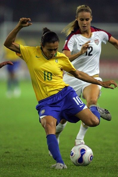 Marta Vieira da Silva (Brazil) elected five times in a row the world's best soccer player