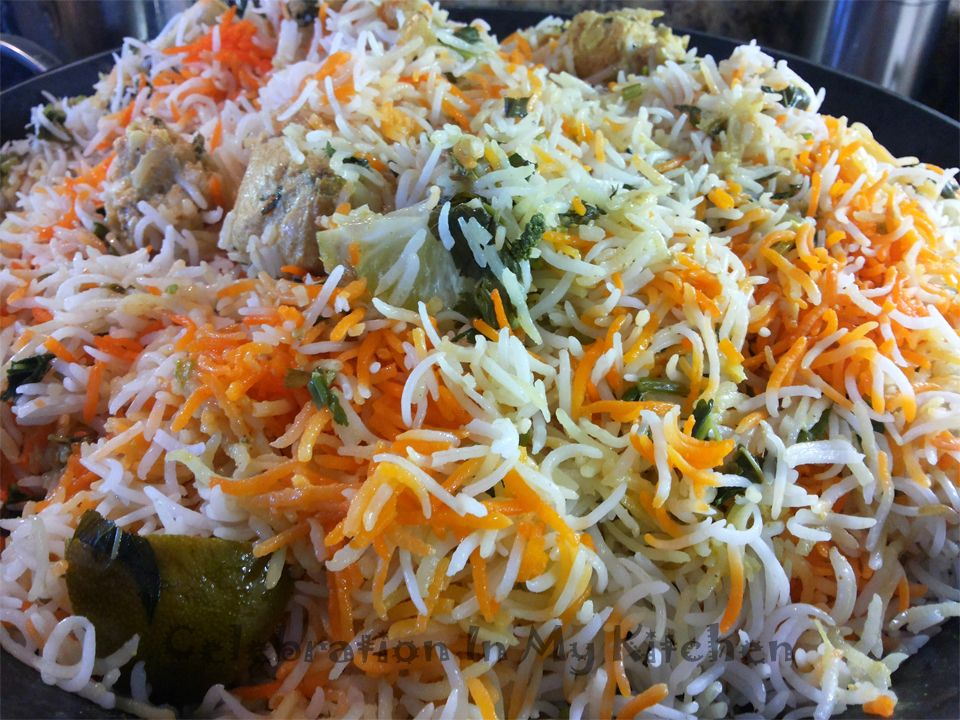 Chatpati Achari Chicken Biryani