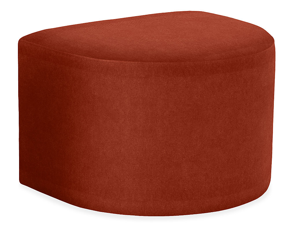 Silva Ottoman Modern Ottomans Footstools Modern Living Room