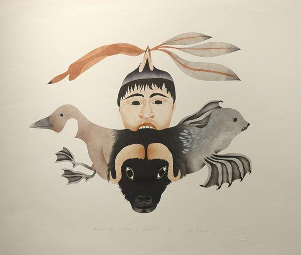 Mary Okheena (Inuit): Songs of Animals (1986)