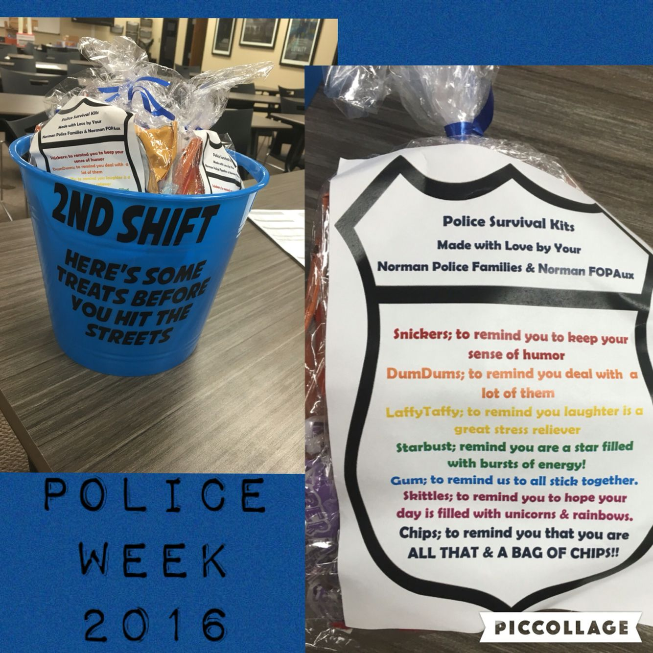 Police Survival Kits police Week ideas Thank a Police