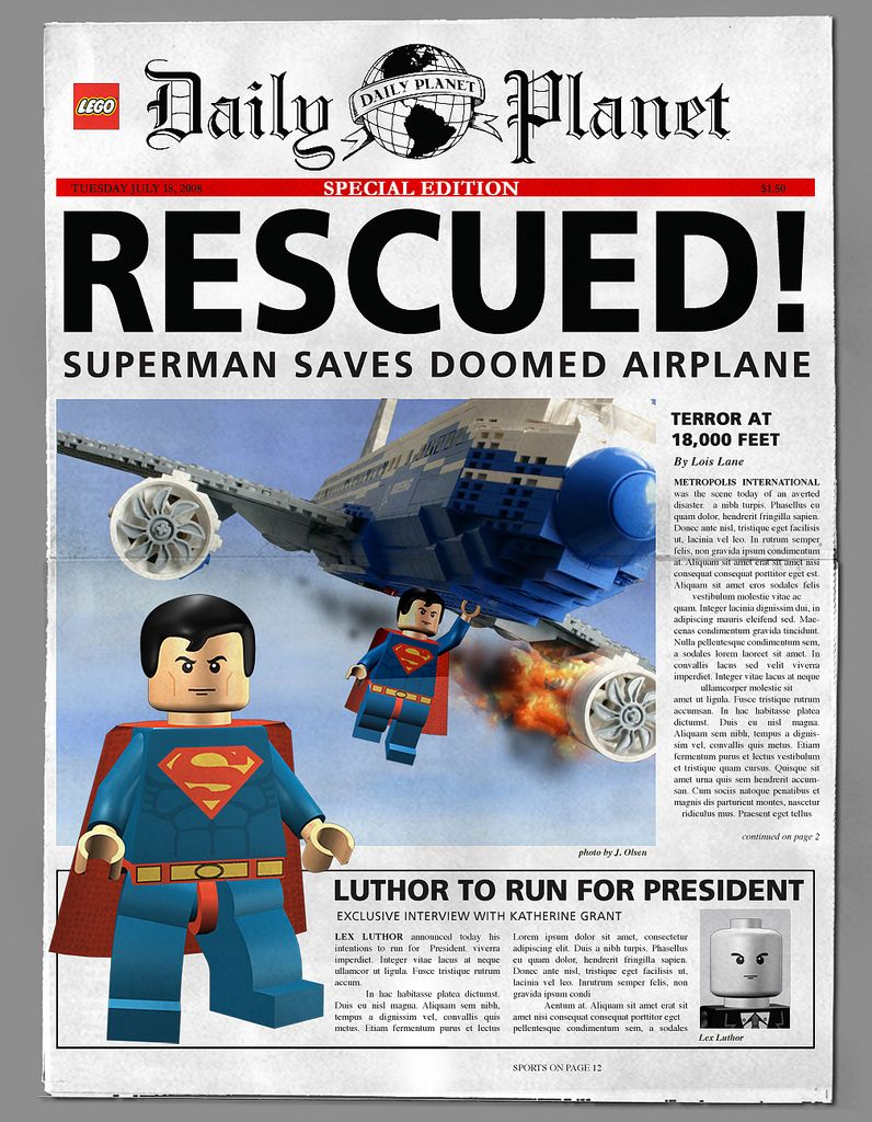Daily Planet Lego