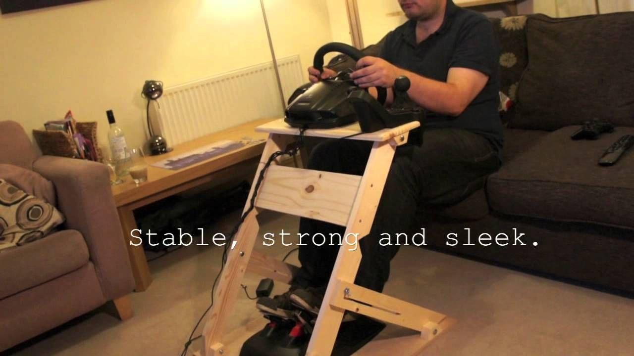 Custom DIY Steering Wheel Stand