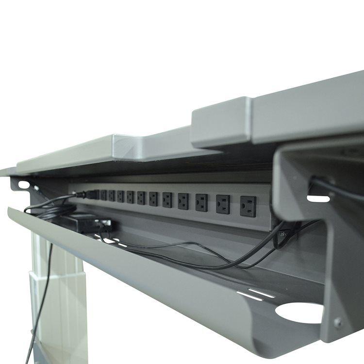- cable and outlet management below Joe's desk - Steve's ...