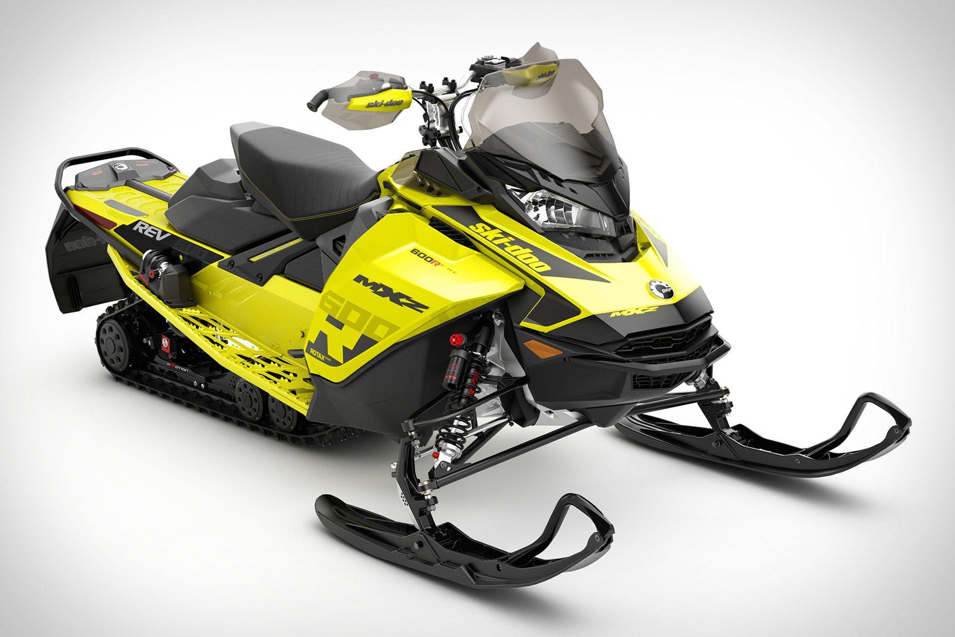 Ski Doo Mxz 600r E Tec Snowmobile