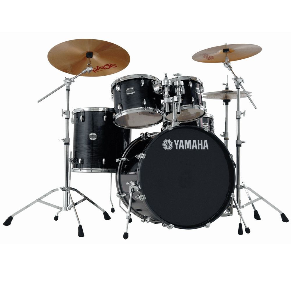 Yamaha Stage Custom 5 Piece Acoustic Shell Pack with 22  Bass Drum     Yamaha Stage Custom drums feature 100  birch shells and quality metal parts   They also feature the Yamaha Enhanced Sustain System  YESS  that provides