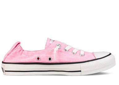 c93d0c6d55196a Amazon.com  Converse Chuck Taylor All Star Shoreline Neon Pink Slip 537150F  Womens 10  Shoes