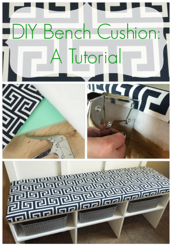 Diy Bench Cushion A Tutorial Lemons Lavender Laundry Diy Bench Cushion Diy Bench Seat Cushions Diy