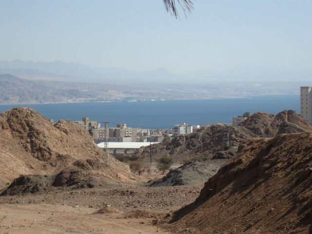 Eilat and the bay