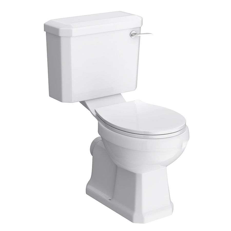 Nuie Carlton Traditional Toilet With Seat At Victorian Plumbing Uk In 2020 Close Coupled Toilets Traditional Bathroom Traditional Bathroom Suites
