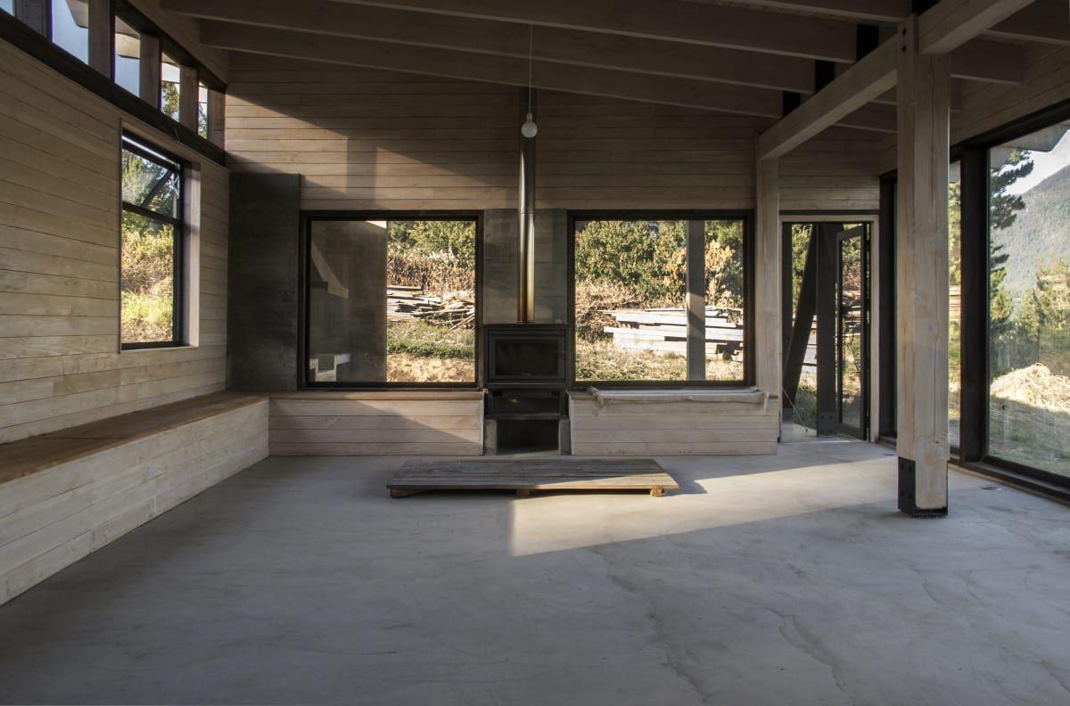 Cristian Berrios Architects Erz House Futrono Chile Casas  # Muebles Futrono