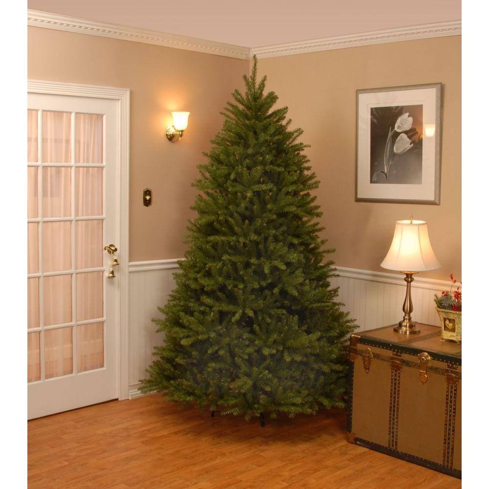 Null 7 5 Ft Unlit Dunhill Fir Artificial Christmas Tree Artificial Christmas Tree Faux Christmas Trees Unlit Christmas Trees