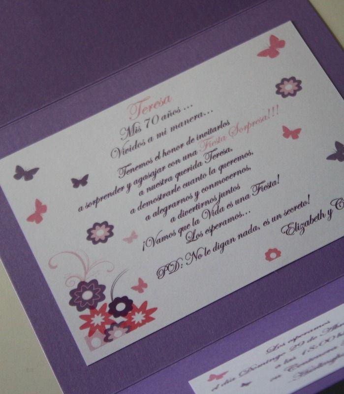 Participaciones invitaciones cumpleanos adultos 15164 - Ideas para hacer tarjetas de cumpleanos ...
