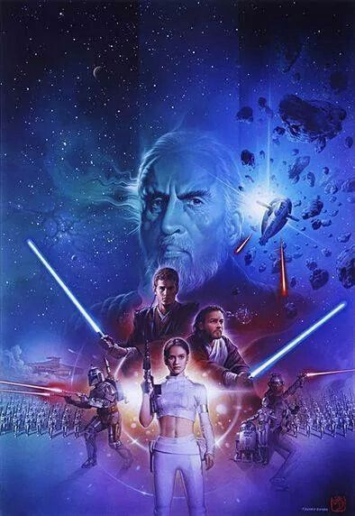 Image result for star wars attack of the clones art