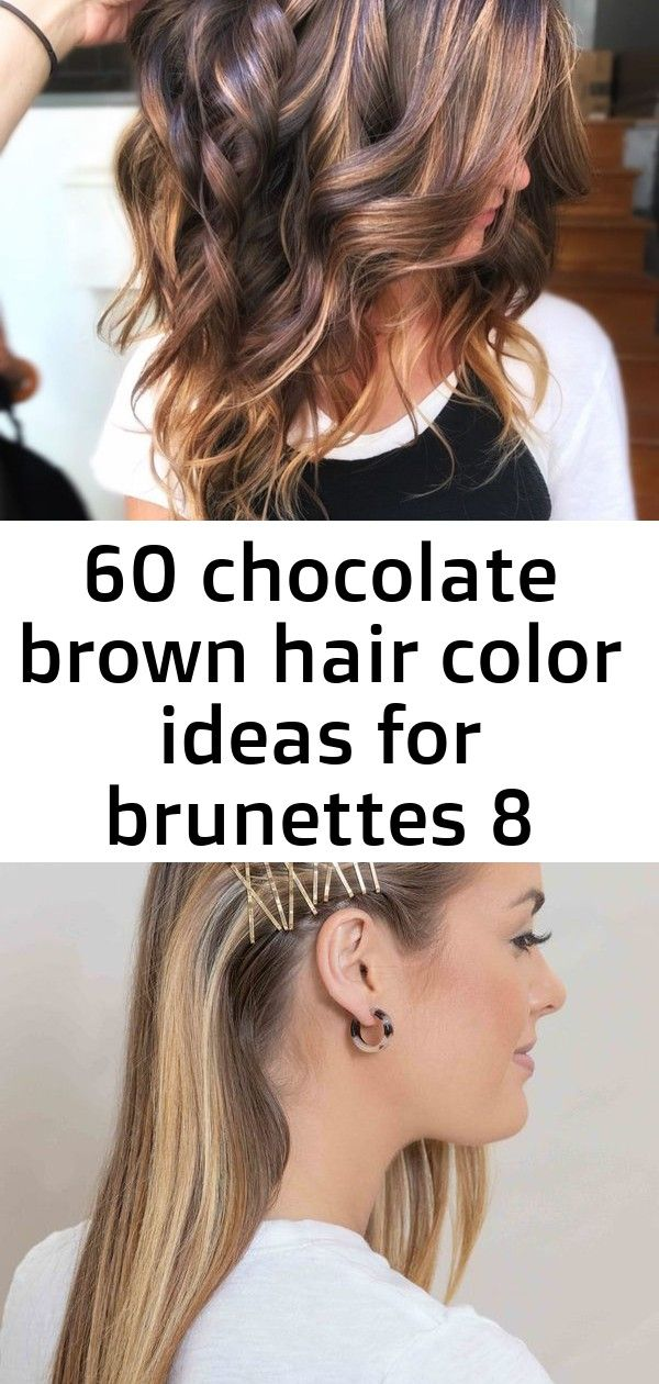 60 chocolate brown hair color ideas for brunettes 8