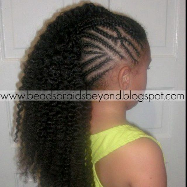 Pleasant 1000 Images About Little Girls Braided Hairstyles With Beads On Hairstyle Inspiration Daily Dogsangcom