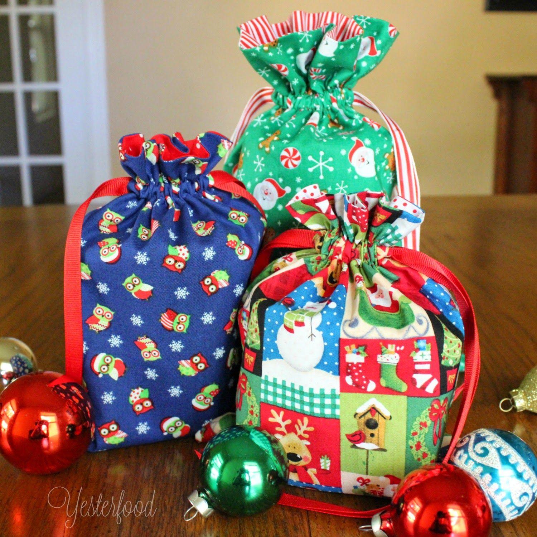 Yesterfood Mason Jar Gift Bags Tutorial Holiday Mason Jars Gifts Mason Jar Gifts Jar Gifts