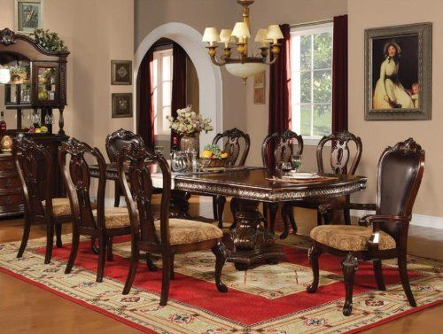 Anondale Dining Table Setacmeacme Furniture$199499 Beauteous Old Fashioned Dining Room Sets Design Inspiration