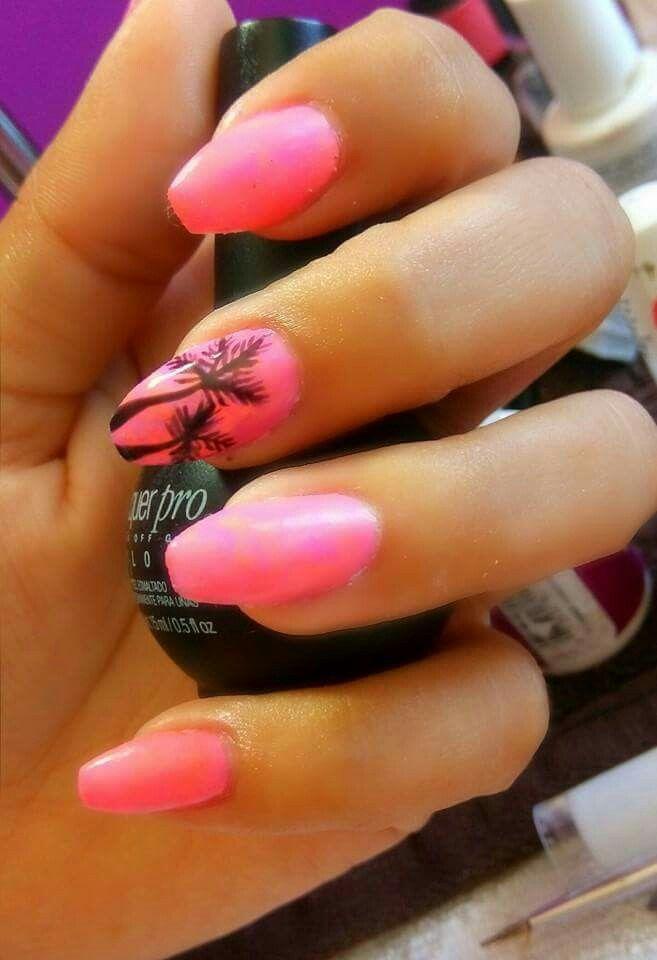 #nails #uñas #decoración #summer #danielapeña