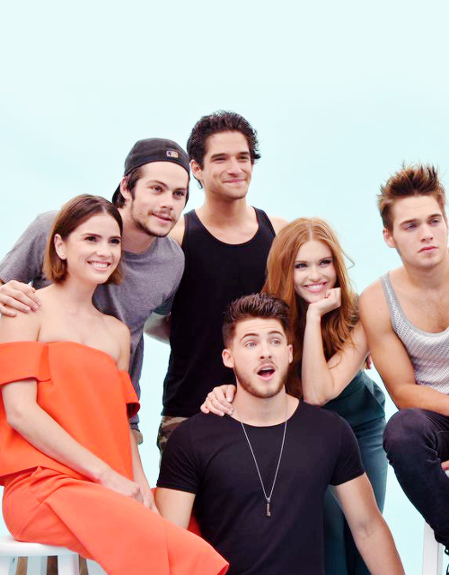 Teen Wolf cast at Comic-Con 2015.