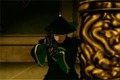 The Last Airbender Ba Sing Se Police Fforce Dai Li cosplay costume Details about  /Avatar