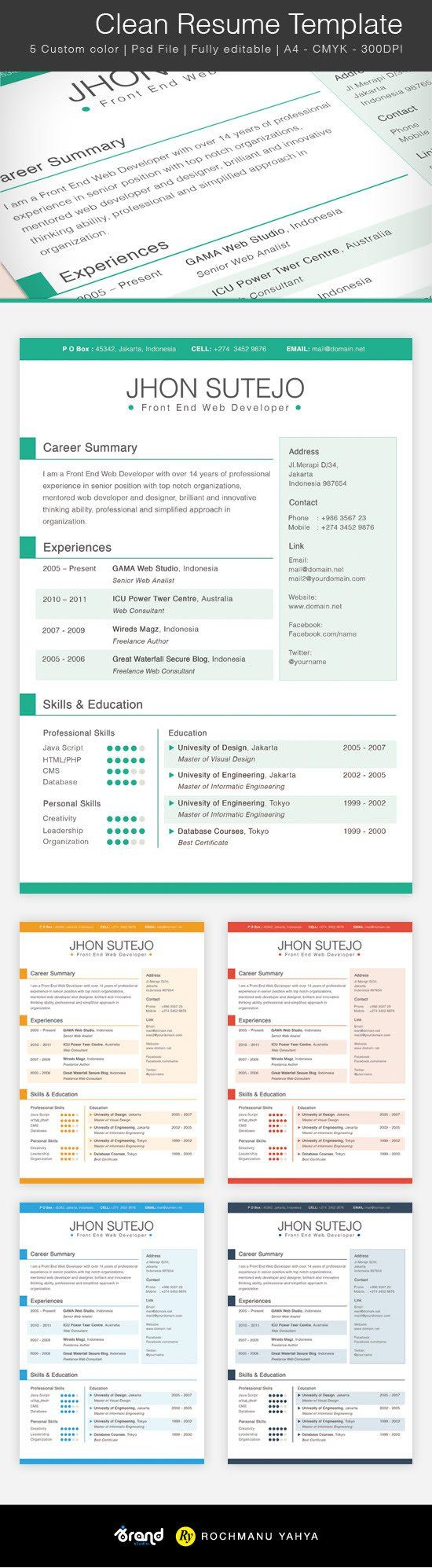 Free Resume  Teaching    Template And Craft