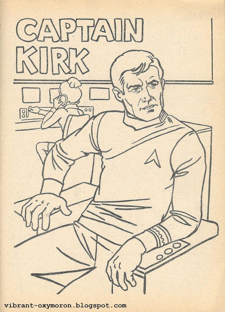 star trek coloring pages star trek color and activity books 1978 - Star Trek Coloring Book