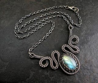 Woven Wire Necklace - WIRE Center •